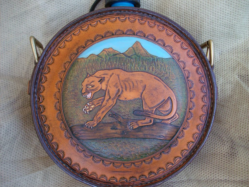 Painted Mtn Lion