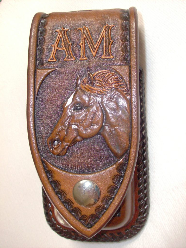 horse knife sheath